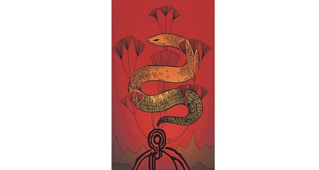 "Aslı Ekim exhibits nearly 40 artworks on  mythological characters in ""Night Travelers."""