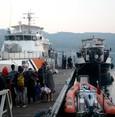موغلا.. خفر السواحل يضبط عبَّارة تحمل مهاجرين غير شرعيين