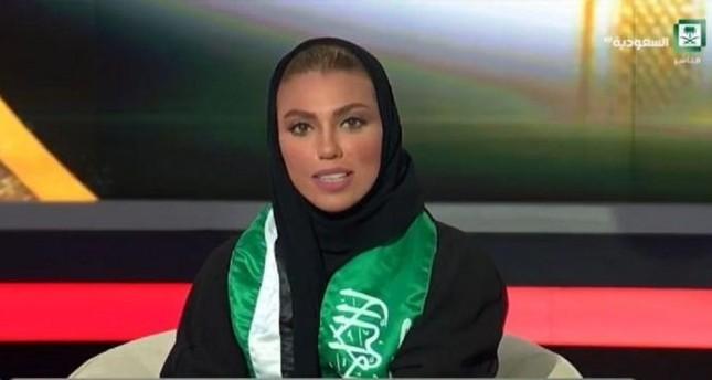 وئام الدخيل.. أول مذيعة تقدم نشرة الأخبار الرئيسية في التلفزيون السعودي الرسمي