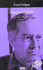 The cover of Anayurt Oteli by Yusuf Atılgan