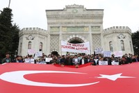 Turkey's NGOs, trade unions show support for anti-terror op