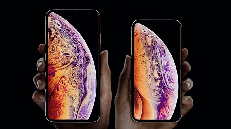 Photo from Apple presentation on Sept. 12, 2018.