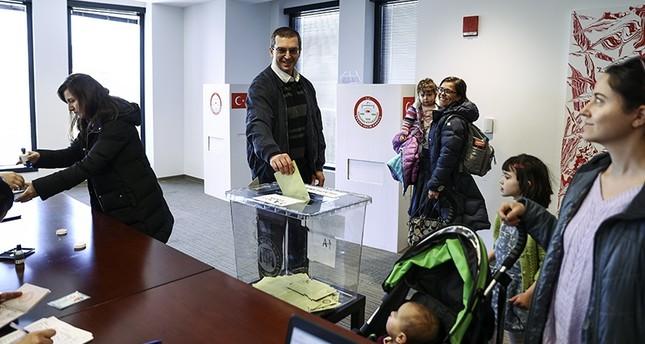 522 ألف تركي بالخارج صوتوا في الاستفتاء على التعديلات الدستورية