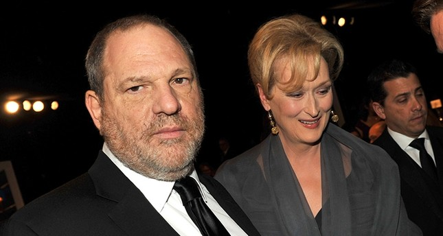 This file photo taken on January 28, 2012 shows producer Harvey Weinstein and actress Meryl Streep attending the 18th Annual Screen Actors Guild Awards at The Shrine Auditorium on January 29, 2012 in Los Angeles, California. AFP Photo