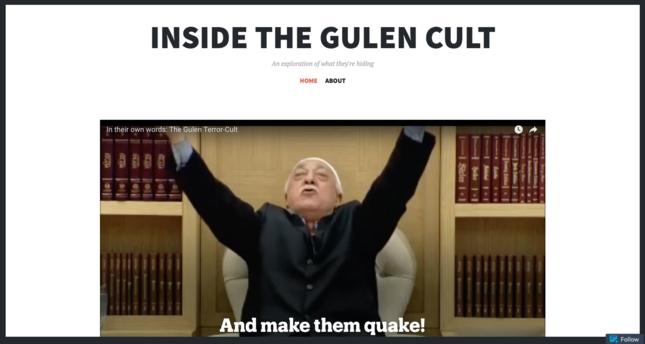 Website focuses on true nature of Gülenist terror-cult