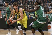 Fenerbahçe beat Panathinaikos in Euroleague 58-71, grab 1-0 lead in series