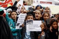 Thousands mourn Yemeni children killed by US-backed coalition airstrike