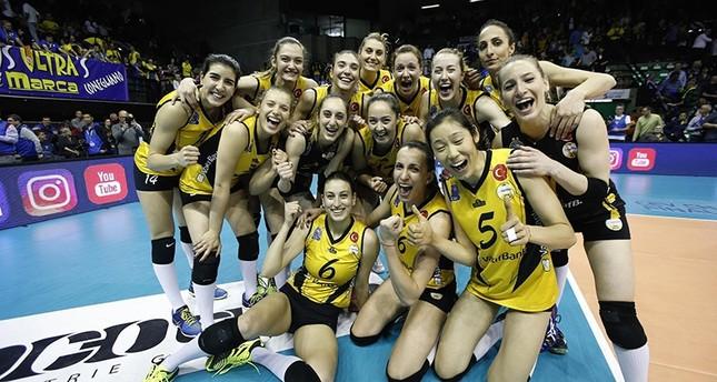 الكرة الطائرة.. سيدات وقف بنك التركي بطلات أوروبا للمرة الثالثة