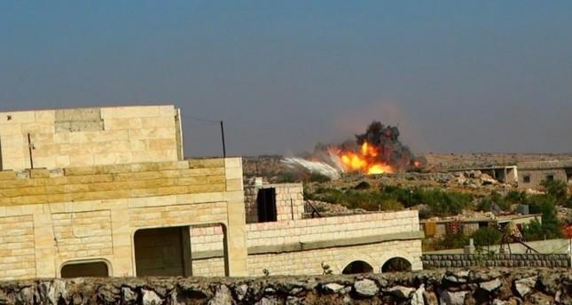 غارة روسية تقتل 3 أشقاء في إدلب السورية
