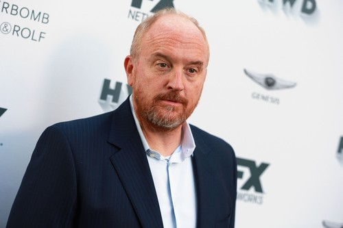 This file photo taken on September 15, 2017 shows Louis C.K. attending FX and Vanity Fair Emmy Celebration at Craft  in Century City. (AFP Photo)