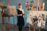 Iman Abu Arra: Palestinian artist devoted to depicting themes on Right of Return