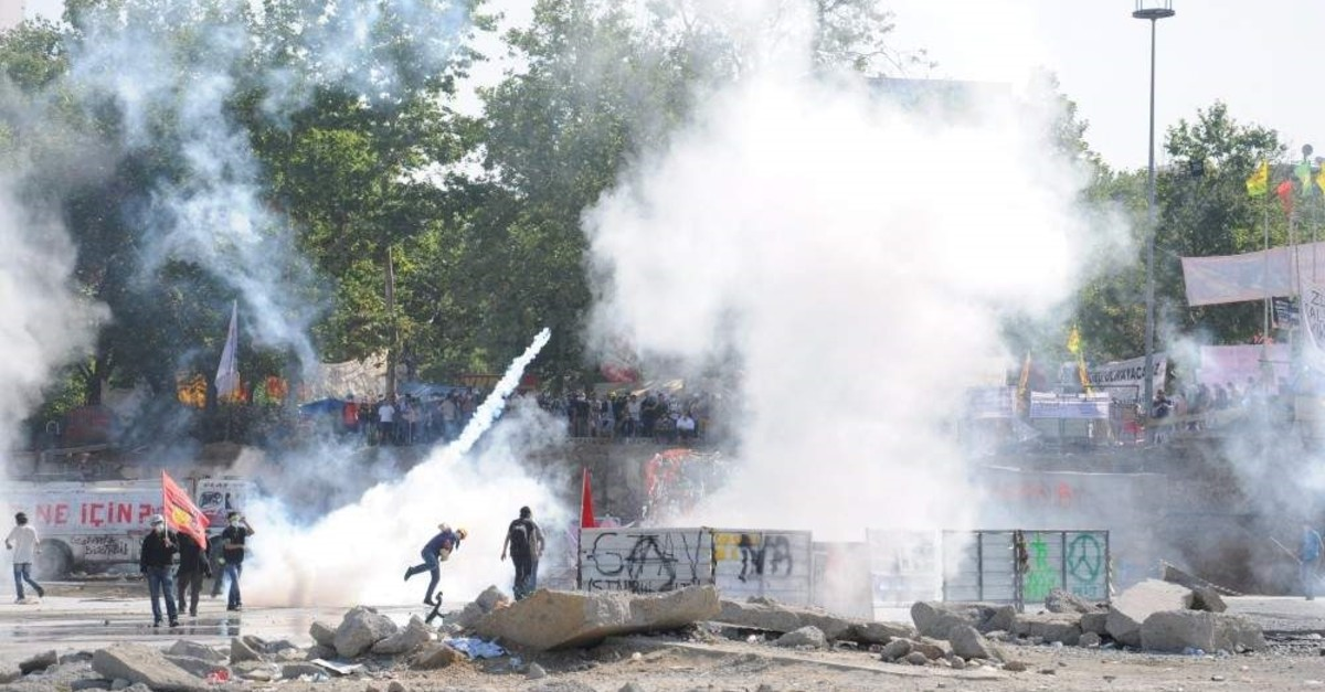 Gezi Park protests evolved into riots when terrorist groups stepped in and clashed with police. (Photo by Emir Somer)