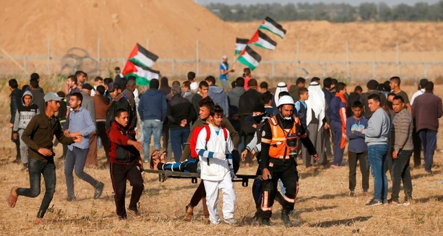 Israeli army kills Palestinian teen at Gaza border - Daily Sabah