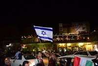 Thousands of Kurdish people in favor of Kurdistan Regional Government (KRG)'s independence referendum have taken to the streets in Irbil, including some waving Israeli flags to celebrate, even...