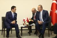 من مراسم افتتاح القنصلية العامة التركية في مدينة ناغويا اليابانية (الأناضول)