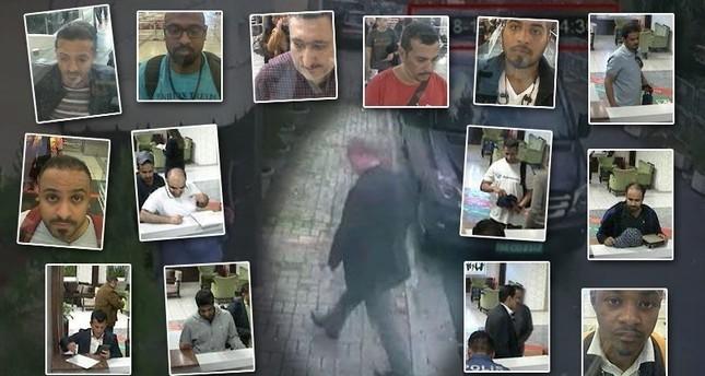 Кадры с камер наблюдения показывают 15 человек, прибывших в Стамбул в день пропажи Хашкаджи