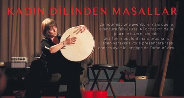Özden Karakışla will mesmerize spectators with her solo performance in Kadın Dilinden Masallar.