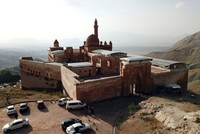 Ishak Pasha Palace in eastern Turkey sees 'significant' hike in visitor numbers