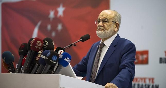حزب السعادة يعلن رئيسه مرشحاً للانتخابات الرئاسية التركية المقبلة