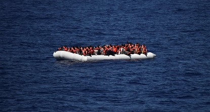 pA rubber boat packed with 147 migrants sank in the Mediterranean and all but one of its passengers drowned, the sole survivor - a 16-year-old Gambian boy - told rescuers, the International...