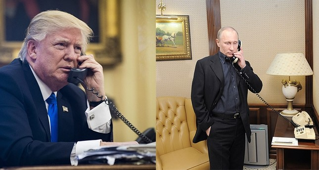 Trump and Putin have first phone conversation