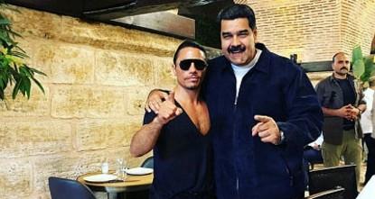 President Maduro enjoys meal at Salt Bae's steakhouse