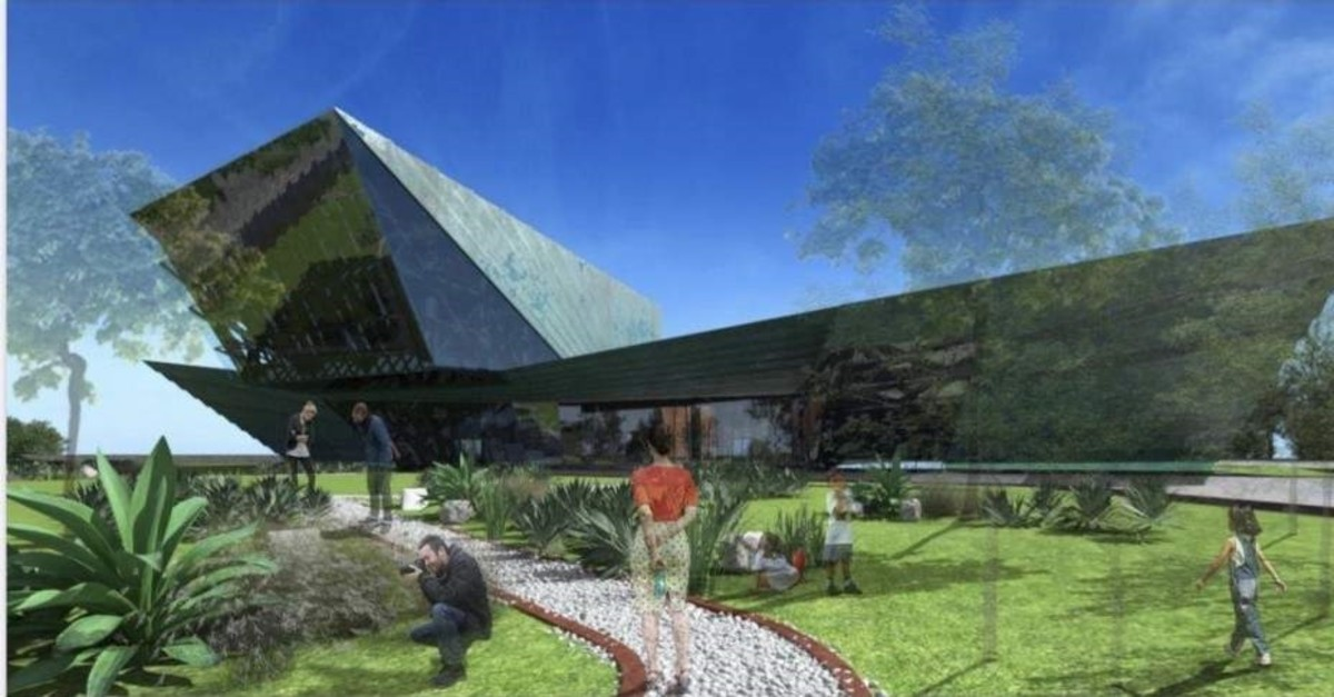 The Great Flood and Noah's Ark Museum plans to be open in 2021. (AA Photo)