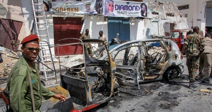 تفجير بسيارة ملغمة يودي بحياة 3 صوماليين في العاصمة مقديشو