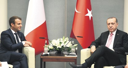 pIn his first visit abroad in 2018, President Recep Tayyip Erdoğan has put efforts to minimize Turkey's security vulnerability against external air threats at the center of his meeting with French...