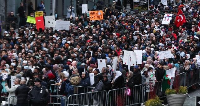 مسيرة في نيويورك للتنديد بمجزرة المسجدين بنيوزيلندا