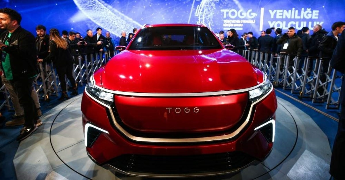 The fully electric sports utility vehicle model of Turkey's automobile will be the first electric-born car of its category in Europe. (AA Photo)