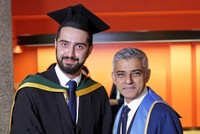 Ten years, four countries, four medical schools and 21 houses later Tirej Brimo, a refugee who fled the Syrian war, is finally a doctor.