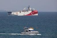 سفينة المسح السيزمي التركية أوروتس رئيس أسوشيتد برس
