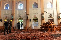 'Local group behind Sri Lanka suicide bombings'