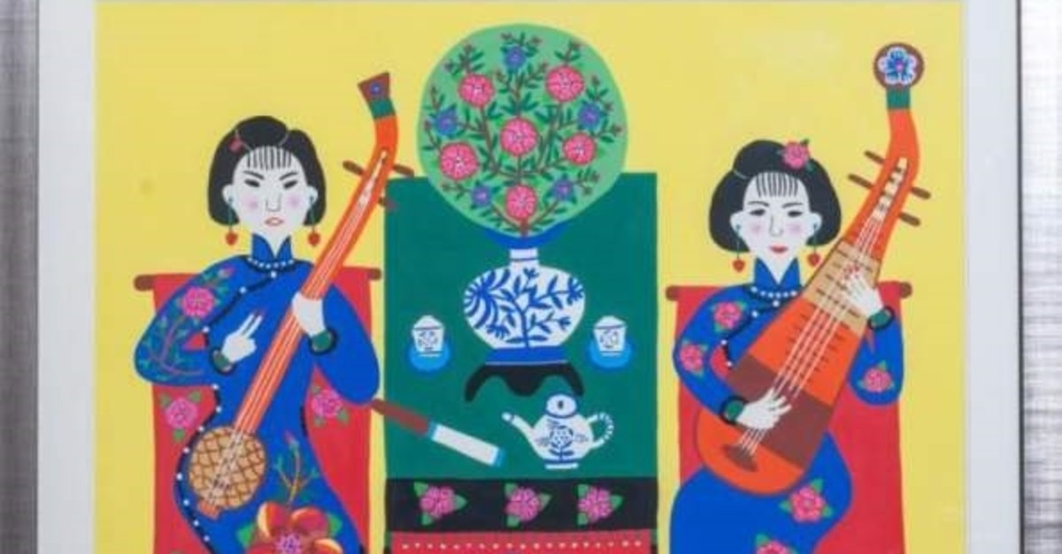 ,The Jinshan Farmer Painting Local Music, from Shanghai Culture & Arts Archive.