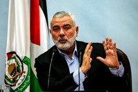 رئيس المكتب السياسي لحماس، إسماعيل هنية (من الأرشيف)