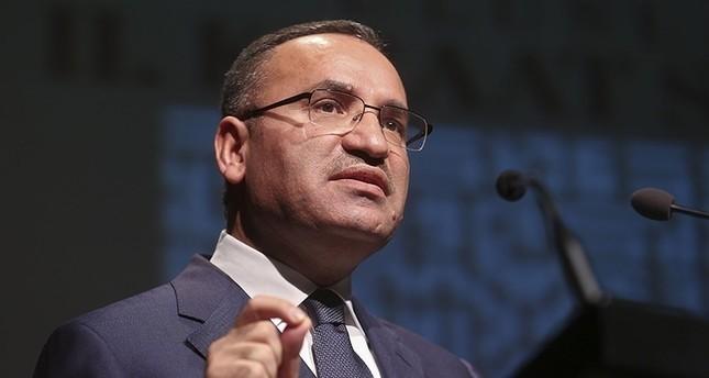 Government spokesperson Bekir Bozdau011f (AA File photo)