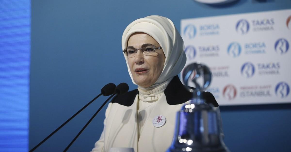 First Lady Emine Erdou011fan