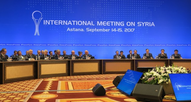 During the previous meeting in September, the parties in Astana agreed to the boundaries of the final de-escalation zone in the northern province of Idlib.