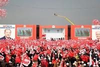 Erdoğan, Yıldırım emphasize unity at Istanbul 'Yes' campaign rally