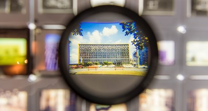 Building of cultural continuity exhibited in Berlin