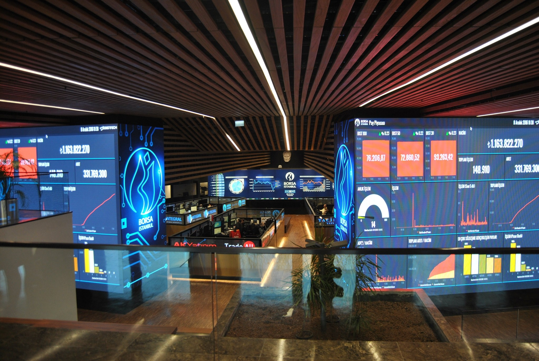 Exchange entity, Borsa Istanbul. (AA Photo)