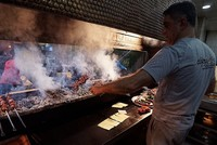 Southeastern Anatolian people find a new liking for liver kebab