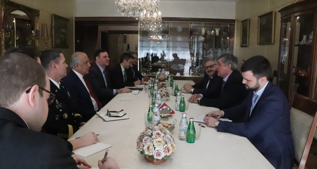 US, Russian envoys discuss Afghan peace in Turkey