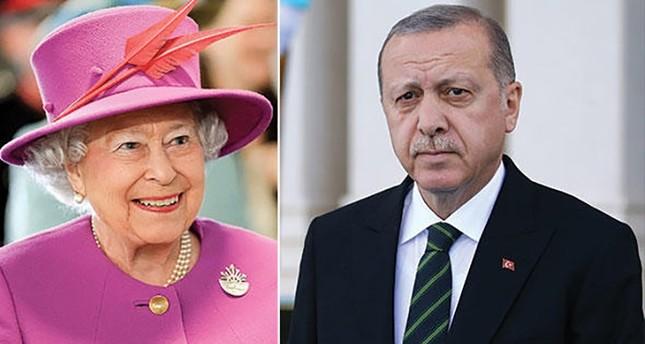 أردوغان يزور إنكلترا 13 مايو الجاري ويلتقي الملكة إليزابيث
