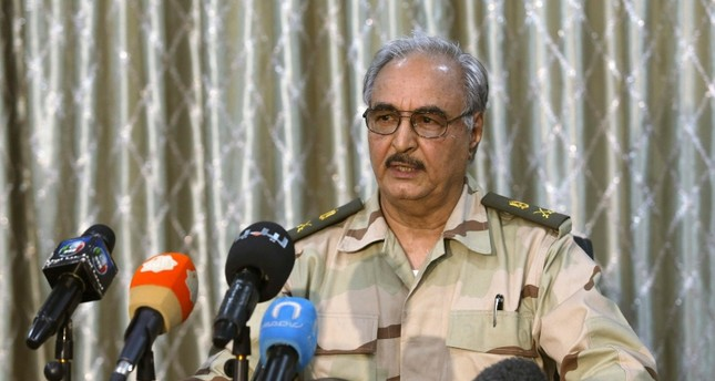 Haftar accepts call from Turkey, Russia for Libya cease-fire