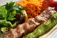 Found just about anywhere in Turkey - and Turkish restaurants around the world - the Adana kebab, commonly known as the