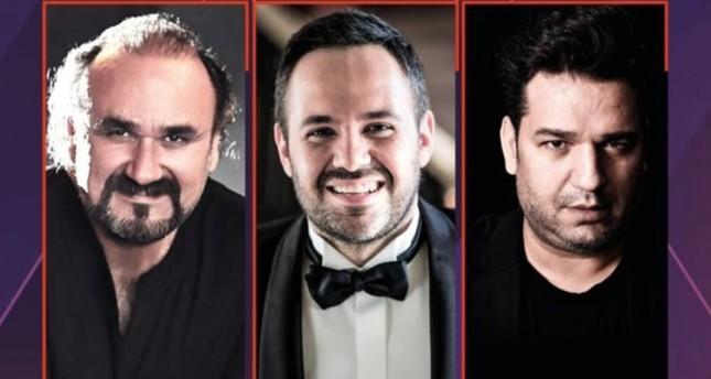 Murat Karahan, Hakan Aysev and Efe Kışlalı will salute art lovers at Bodrum Ancient Theater Hall on Aug. 20.