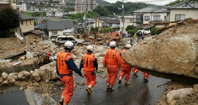 وزير الخارجية التركي يعزي اليابان بالضحايا والمفقودين جراء الفيضانات