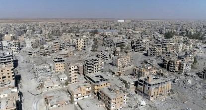 US-led coalition killed 1,600 civilians in Syria's Raqqa